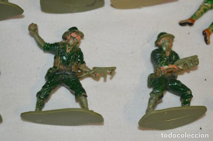 Figuras de Goma y PVC: 15 Soldados JAPONESES y OTROS / Sobre 4 / 5 Cm. altura ¡Mira fotos y detalles! - Foto 9 - 212020432