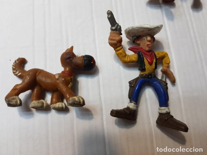 Figuras de Goma y PVC: Figuras Goma Lucky Luke Rantamplan etc lote 7 - Foto 5 - 212022123
