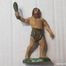 Figuras de Goma y PVC: FIGURA CAVERNICOLA GOMA DE JECSAN SERIE ANTEDILUVIANO. Lote 212026630