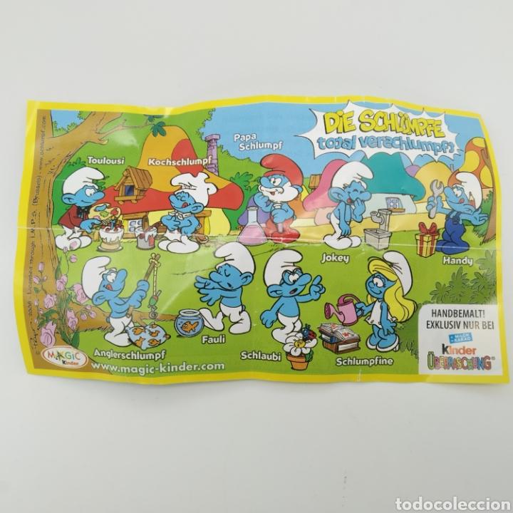 Figuras Kinder: Colección completa los PITUFOS Magic Kinder, Kinder Sorpresa - Ferrero año 2008 - Foto 4 - 212028302