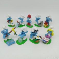Figuras Kinder: COLECCIÓN COMPLETA LOS PITUFOS MAGIC KINDER, KINDER SORPRESA - FERRERO AÑO 2008. Lote 212028302