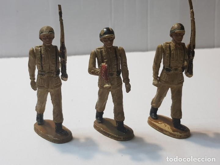 FIGURAS EN GOMA TEIXIDO SERIE DESFILE ARTICULADAS (Juguetes - Figuras de Goma y Pvc - Teixido)