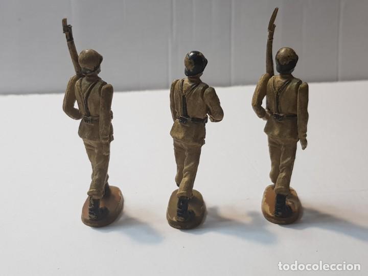 Figuras de Goma y PVC: Figuras en Goma Teixido serie Desfile articuladas - Foto 2 - 212028753