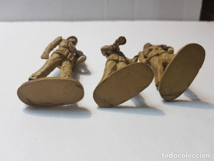 Figuras de Goma y PVC: Figuras en Goma Teixido serie Desfile articuladas - Foto 4 - 212028753