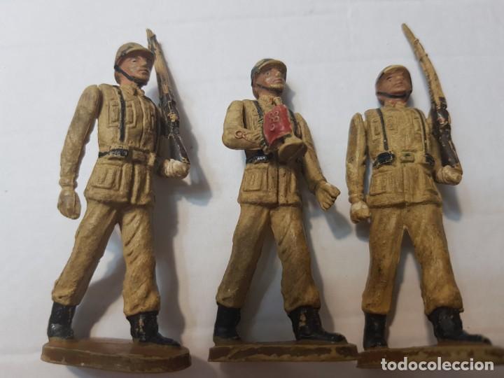 Figuras de Goma y PVC: Figuras en Goma Teixido serie Desfile articuladas - Foto 5 - 212028753