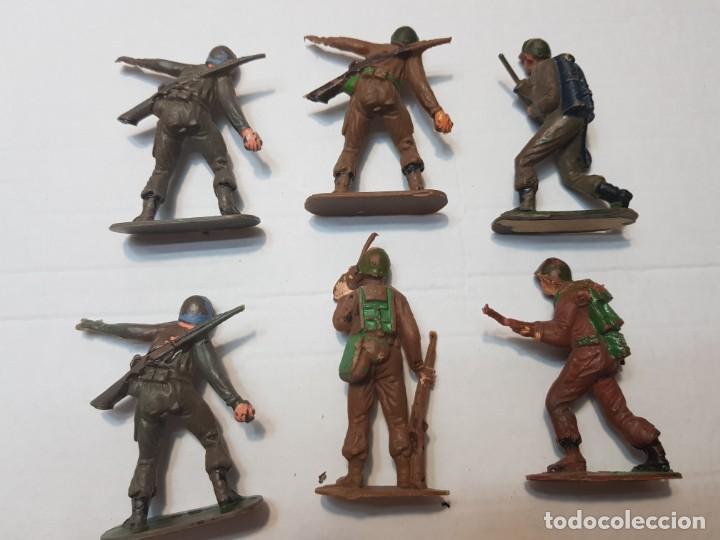 Figuras de Goma y PVC: Figuras Jecsan Marines y Japoneses lote 6 - Foto 3 - 212031586