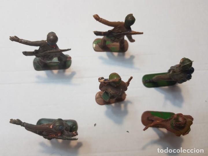 Figuras de Goma y PVC: Figuras Jecsan Marines y Japoneses lote 6 - Foto 4 - 212031586