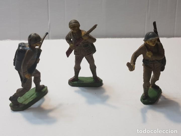 FIGURAS EN GOMA PECH LOTE 3 JAPONESES ESCASOS (Juguetes - Figuras de Goma y Pvc - Pech)