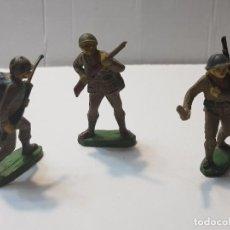 Figuras de Goma y PVC: FIGURAS EN GOMA PECH LOTE 3 JAPONESES ESCASOS. Lote 212032306