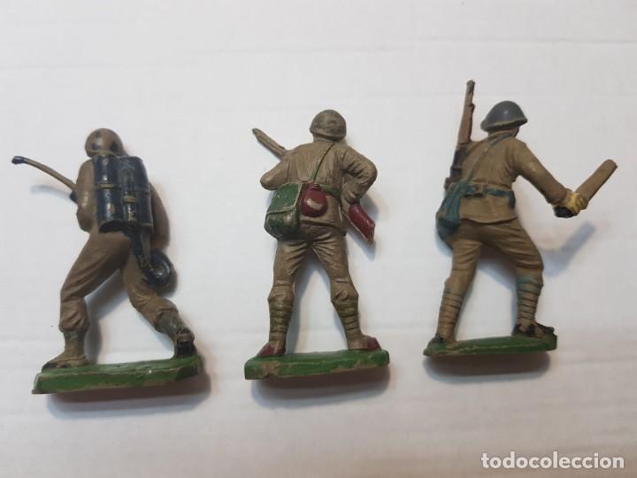 Figuras de Goma y PVC: Figuras en Goma Pech lote 3 Japoneses escasos - Foto 6 - 212032306