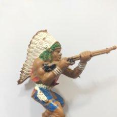 Figuras de Goma y PVC: LAFREDO INDIO PARA CABALLO SERIE GRANDE. Lote 212090237