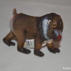 Figurines en Caoutchouc et PVC: MANDRIL MACHO. FIGURA SCHLEICH. ROMANJUGUETESYMAS.. Lote 212165545