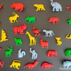 Figuras de Goma y PVC: ANIMALES DUNKIN COMPLETA 30 FIGURAS.. Lote 212254310