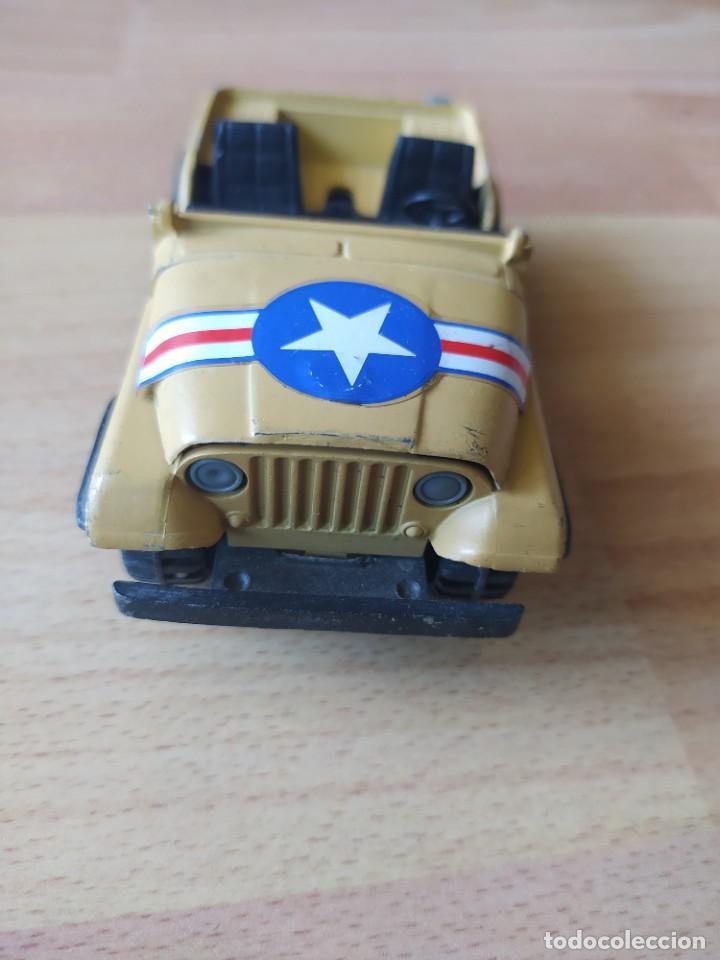 Figuras de Goma y PVC: Soldados de plástico antiguos y Jeep para maqueta o diorama militar de soldaditos - Foto 5 - 212254426