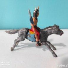 Figuras de Goma y PVC: REAMSA INDIO A CABALLO. Lote 212280413