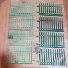 Figuras de Goma y PVC: LOTE VALLAS ZOO COMANSI ANTIGUAS. Lote 212305382