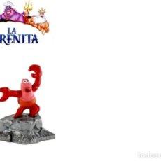 Figuras de Goma y PVC: FIGURAS LA SIRENITA - GRAN SEBASTIAN - DISNEY BULLYLAND. Lote 265760759