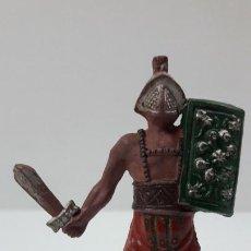 Figuras de Goma y PVC: GLADIADOR ROMANO . FIGURA REAMSA Nº 164 . SERIE GLADIADORES . ORIGINAL AÑOS 50 EN GOMA. Lote 212398291