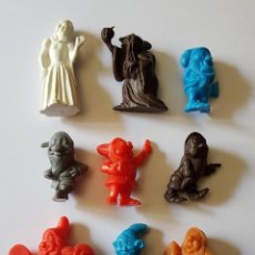Figuras de Goma y PVC: BLANCANIEVES Y LOS SIETE ENANITOS LOTE 9 FIGURAS TIPO DUNKIN. Lote 212412658