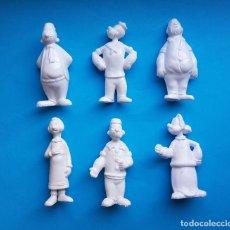 Figuras de Goma y PVC: POPEYE EL MARINO LOTE DE 6 FIGURAS PROMOCIONALES MIR FRANCIA PLASTICO DURO. Lote 212413168