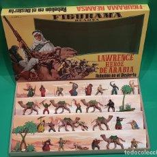 Figuras de Goma y PVC: FIGURAMA DE REAMSA - LAWRENCE HEROE DE ARABIA, AÑO 1962.. Lote 191877947