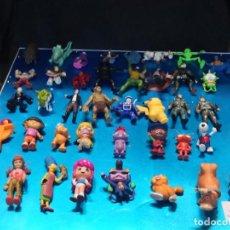 Figuras de Goma y PVC: LOTE DE 40 FIGURAS MUÑECOS DIFERENTES SERIES COLECCIONABLES. Lote 212419255