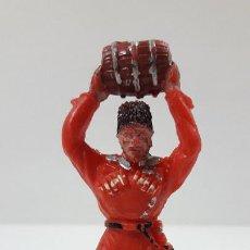 Figuras de Goma y PVC: COSACO . REALIZADO POR LAFREDO . SERIE COSACOS . ORIGINAL AÑOS 60. Lote 212434953