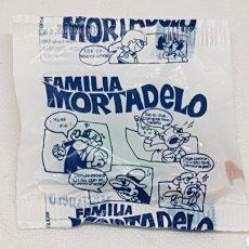 Figuras de Goma y PVC: SOBRE SIN ABRIR ENVOLTORIO FIGURA TIPO DUNKIN CONGUITOS AÑOS 70 CHICLE FAMILIA MORTADELO. Lote 212477087