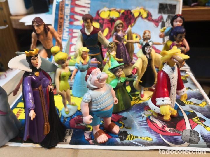 LOTE DE 15 FIGURAS SERIE DIBUJOS ANIMADOS. BULLYLAND Y DISNEY (Juguetes - Figuras de Goma y Pvc - Bully)