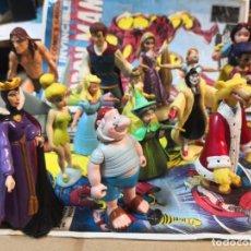Figuras de Goma y PVC: LOTE DE 15 FIGURAS SERIE DIBUJOS ANIMADOS. BULLYLAND Y DISNEY. Lote 212571528