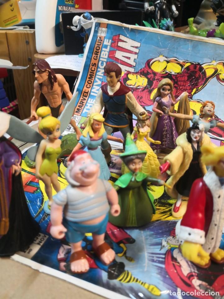 Figuras de Goma y PVC: Lote de 15 figuras serie dibujos animados. BULLYLAND y Disney - Foto 3 - 212571528