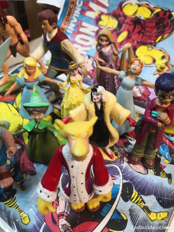 Figuras de Goma y PVC: Lote de 15 figuras serie dibujos animados. BULLYLAND y Disney - Foto 4 - 212571528