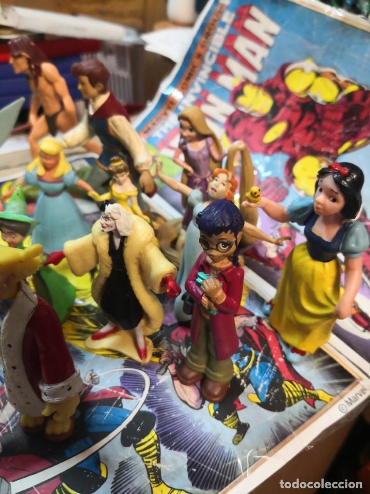 Figuras de Goma y PVC: Lote de 15 figuras serie dibujos animados. BULLYLAND y Disney - Foto 5 - 212571528