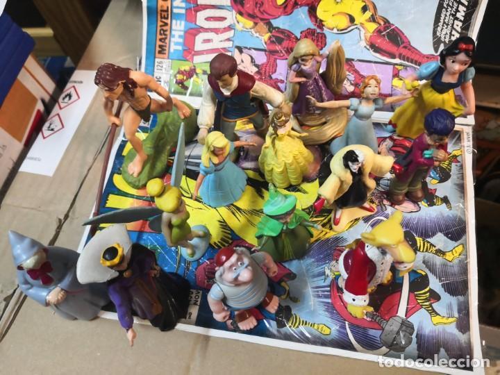 Figuras de Goma y PVC: Lote de 15 figuras serie dibujos animados. BULLYLAND y Disney - Foto 6 - 212571528