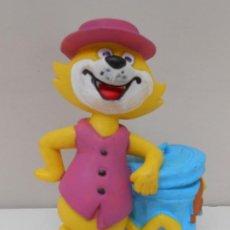 Figurines en Caoutchouc et PVC: FIGURA PVC DON GATO TOP CAT GOMA FIGURE DIBUJOS ANIMADOS ALFREEDOM. Lote 220809665