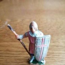 Figuras de Goma y PVC: MOROS Y CRISTIANOS DE JECSAN. CRISTIANO DE JECSAN. Lote 212594415