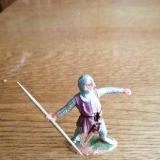 Figuras de Goma y PVC: MOROS Y CRISTIANOS DE JECSAN. CRISTIANO DE JECSAN. Lote 212594455