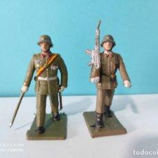 Figuras de Goma y PVC: REAMSA LOTE 2 SOLDADOS SERIE DESFILE INFANTERIA. Lote 212620715