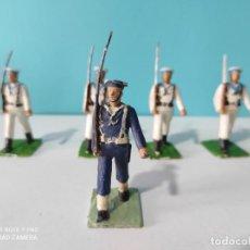 Figuras de Goma y PVC: REAMSA LOTE 5 FIGURAS MARINA SERIE DESFILE. Lote 212622103