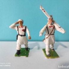Figuras de Goma y PVC: REAMSA LOTE 2 FIGURAS SERIE DESFILE MONTAÑA. Lote 212623352