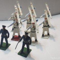 Figuras de Goma y PVC: FIGURAS REAMSA DESFILE TROPAS DE MONTAÑA 10 FIGURAS. Lote 212633562