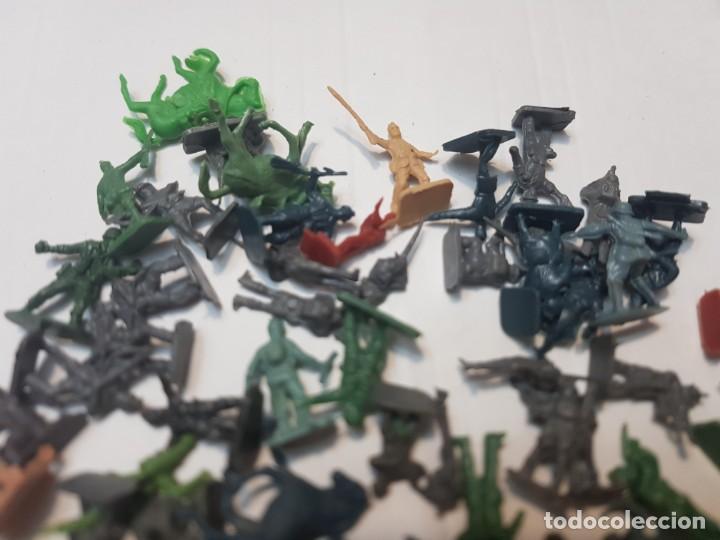 Figuras de Goma y PVC: Lote Figuras Montaplex serie soldados del Mundo - Foto 2 - 212636707
