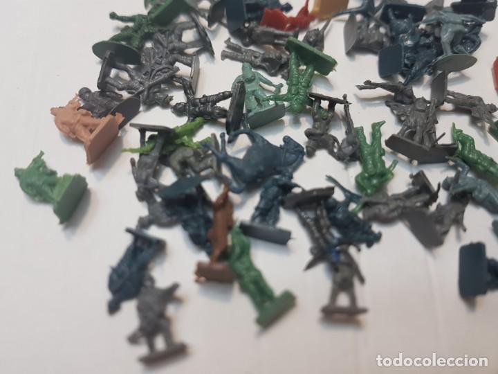 Figuras de Goma y PVC: Lote Figuras Montaplex serie soldados del Mundo - Foto 3 - 212636707