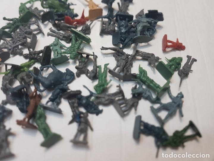 Figuras de Goma y PVC: Lote Figuras Montaplex serie soldados del Mundo - Foto 4 - 212636707