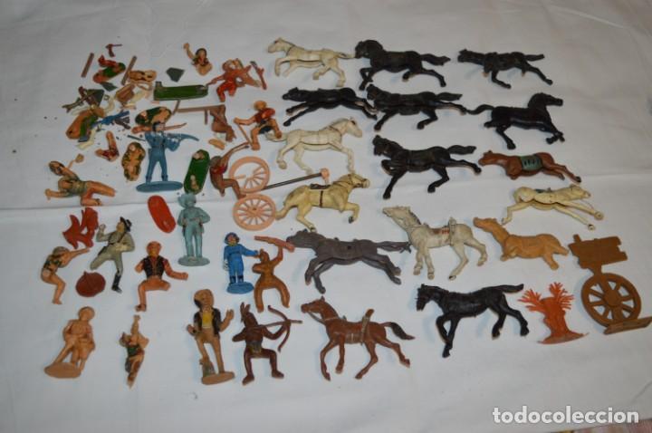 Figuras de Goma y PVC: OESTE - Yankee, vaqueros indios y caballos / Plástico/PVC - COMANSI, OLIVER, PUIG, PECH, JECSAN ... - Foto 2 - 212688550