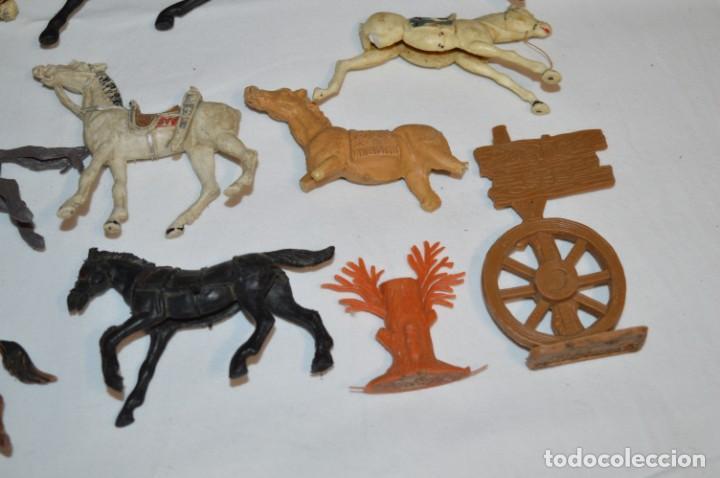 Figuras de Goma y PVC: OESTE - Yankee, vaqueros indios y caballos / Plástico/PVC - COMANSI, OLIVER, PUIG, PECH, JECSAN ... - Foto 5 - 212688550