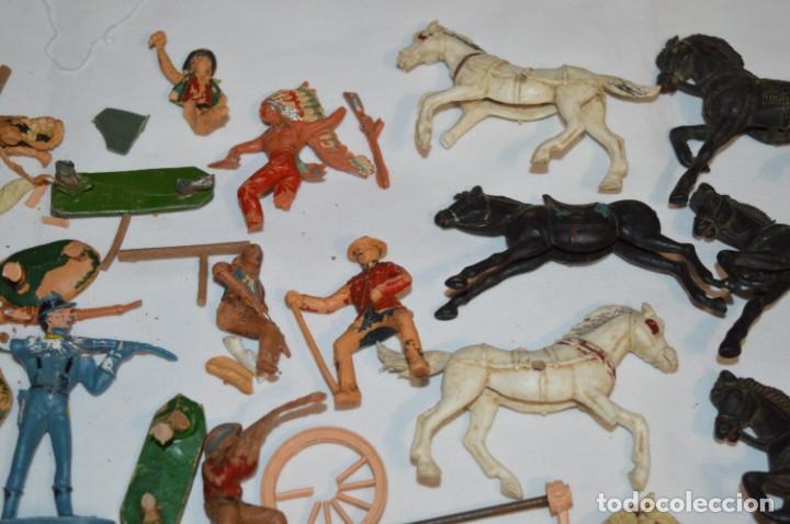 Figuras de Goma y PVC: OESTE - Yankee, vaqueros indios y caballos / Plástico/PVC - COMANSI, OLIVER, PUIG, PECH, JECSAN ... - Foto 6 - 212688550
