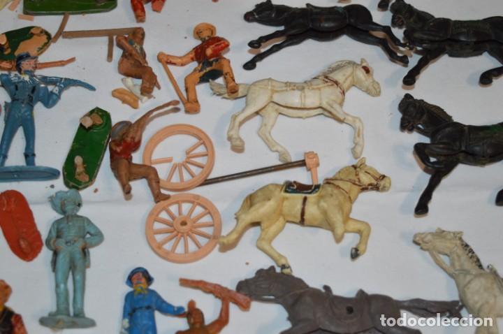 Figuras de Goma y PVC: OESTE - Yankee, vaqueros indios y caballos / Plástico/PVC - COMANSI, OLIVER, PUIG, PECH, JECSAN ... - Foto 7 - 212688550