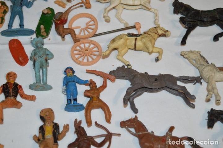 Figuras de Goma y PVC: OESTE - Yankee, vaqueros indios y caballos / Plástico/PVC - COMANSI, OLIVER, PUIG, PECH, JECSAN ... - Foto 8 - 212688550