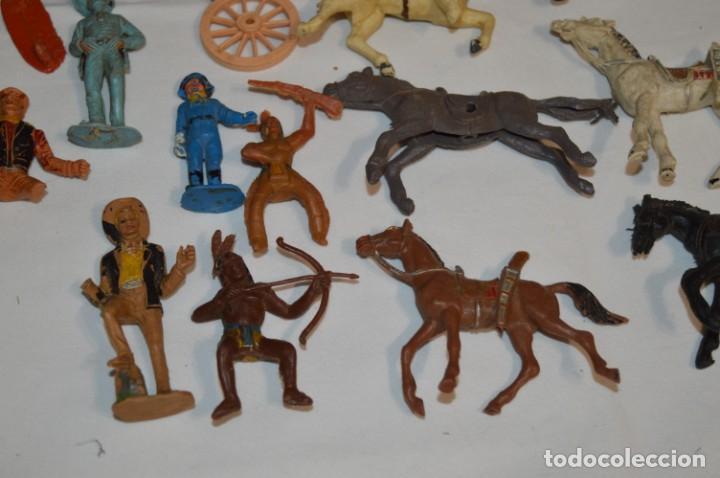 Figuras de Goma y PVC: OESTE - Yankee, vaqueros indios y caballos / Plástico/PVC - COMANSI, OLIVER, PUIG, PECH, JECSAN ... - Foto 9 - 212688550